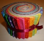 Spectrum Blender Jelly Roll - 20 Fabrics, 20 Total Strips