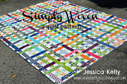 Simply Woven Jelly Roll Pattern Free