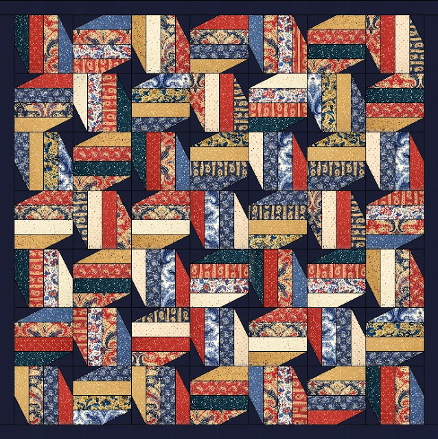 Honor Free Patriotic Jelly Roll Pattern