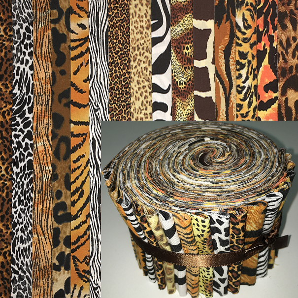 Animal Skin Prints 2 5 Quot Roll 20 Total Strips