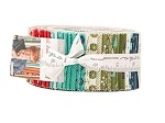 Eat, Drink & Be Ugly Jelly Roll - by Moda - 40 Strips