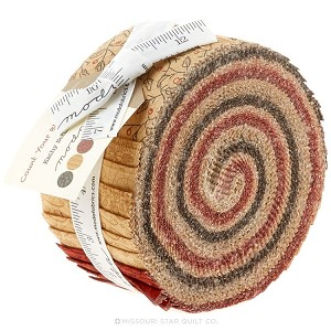 Count Your Blessings Jelly Roll - by Moda - 40 Strips