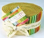 Bella Solids Warm Jelly Roll - by Moda - 40 Strips