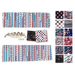 Charm Pack 5x5 Squares - Benartex All American - 40 5