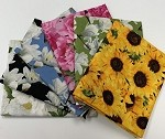 Andover Floral Market Fat Quarter Bundle - 6 Fabrics, 6 Total Fat Quarters