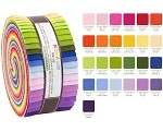 Robert Kaufman Kona Cotton Annie Smith Designer Palette Roll-up - 40 Strip Roll
