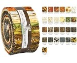 Robert Kaufman Autumn Beauties Roll-up - 40 Strip Roll