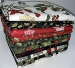 Benartex A Festive Season Metallics Half-yard Bundle - 10 Fabrics, 5 Total Yards
