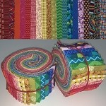 Limited Edition Benartex Rainbow Mix - 40 Strips Total, Set of 2 Rolls