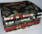 Benartex A Festive Season Metallics Fat Quarter Bundle - 10 Fabrics, 10 Total Fat Quarters