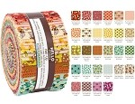 Robert Kaufman Berry Season By Elizabeth Hartman Roll-up - 40 Strip Roll