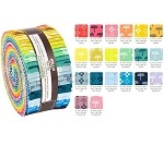 Robert Kaufman Blueberry Park Color Roll-up - 40 Strip Roll