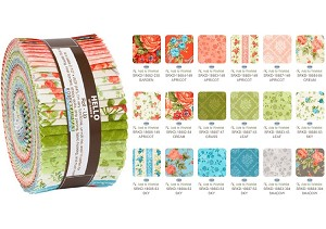 Robert Kaufman Cassandra by Studio RK Roll-up - 40 Strip Roll