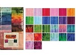 Benartex Bali Colorama II Batiks Strip-pies - 40 2.5