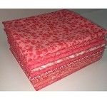 Basic Colors - Coral Fat Quarter Bundle - 10 Fabrics, 10 Total Fat Quarters