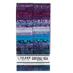 Island Batik - Crystal Sea - 20 Fabrics, 40 Total Strips