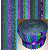 "Deep Ocean 2.5"" Roll - 20 Fabrics, 20 Total Strips"