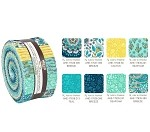 Robert Kaufman Delphine Breeze Roll-up - 40 Strip Roll