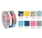 Robert Kaufman Delphine Spring Roll-up - 40 Strip Roll