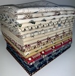 Marcus Fabrics Devon County Fat Quarter Bundle - 20 Fabrics, 20 Total Fat Quarters