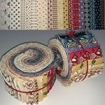 Limited Edition Marcus Fabrics Devon County Bundle - 40 Strips Total, Set of 2 Rolls