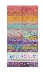 Island Batik - Ditty - 20 Fabrics, 40 Total Strips