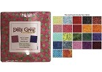 Charm Pack 5x5 Squares - Benartex Dots Great Batiks - 40 5