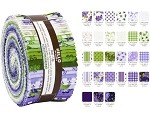 Robert Kaufman Elizabeth By FlowerHouse Roll-up - 40 Strip Roll