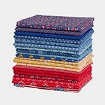 Flags/Patriotic Fat Quarter Bundle - 20 Fat Quarters