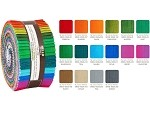 Robert Kaufman Fresh Hues Ombre by Studio RK Roll-up - 40 Strip Roll