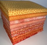 Fuzzy Peach Half-yard Bundle - 10 Fabrics,5 Total Yards