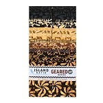 Island Batik - Geared Up - 20 Fabrics, 40 Total Strips