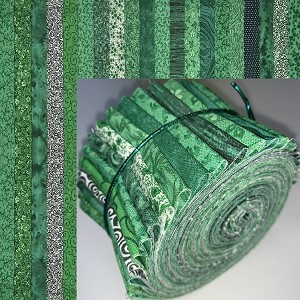 "Christmas Greens 2.5"" Roll - 20 Total Strips"
