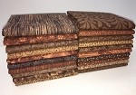 Half-yard Chocolate/Toffee Bundle - 20 Fabrics,10 Total Yards