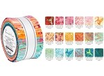 Robert Kaufman Artisan Batiks: Hummingbird Lane Roll-up - 40 Total Strips