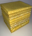 Yellow Half-yard Bundle - 10 Fabrics,5 Total Yards