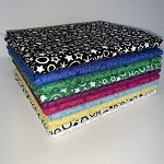 Patrick Lose Festive Fat Quarter Bundle - 10 Fabrics, 10 Total Fat Quarters