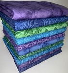 Deep Ocean Half-yard Bundle - 10 Fabrics, 5 Total Yards
