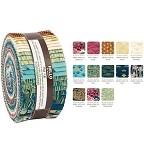 Robert Kaufman Imperial Collection Garden Colorstory Roll-up - 40 Strips