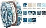 Robert Kaufman Imperial Collection Indigo Colorstory Roll-up - 40 Strips