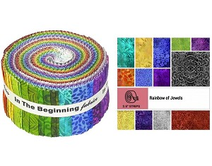 Rainbow Of Jewels - In The Beginning - 40 Strips