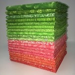 Juicy Melon Fat Quarter Bundle - 20 Fabrics, 20 Total Fat Quarters
