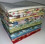 Marcus Fabrics Ki-Coo Gardens Fat Quarter Bundle - 20 Fabrics, 20 Total Fat Quarters