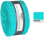 Robert Kaufman Kona Cotton Splash 2019 Color of the Year Roll-up - 40 Strip Roll