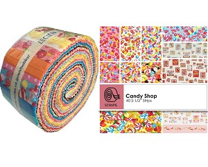 Lecien Candy Shop Sushi Roll -  40 Strips