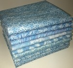 Basic Colors - Light Blue Fat Quarter Bundle - 10 Fabrics, 10 Total Fat Quarters