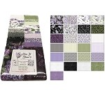 Benartex Lilacs In Bloom Strip-pies - 40 2.5