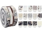 Robert Kaufman Mayfield Antique Roll-up - 40 Strip Roll