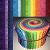 "May Rainbow Gradation 2.5"" Roll - 20 Fabrics, 20 Total Strips"