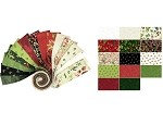 Merry & Bright Roll - Clothworks - 40 Strips